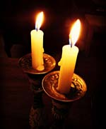 shabbat candles 007.1 150w