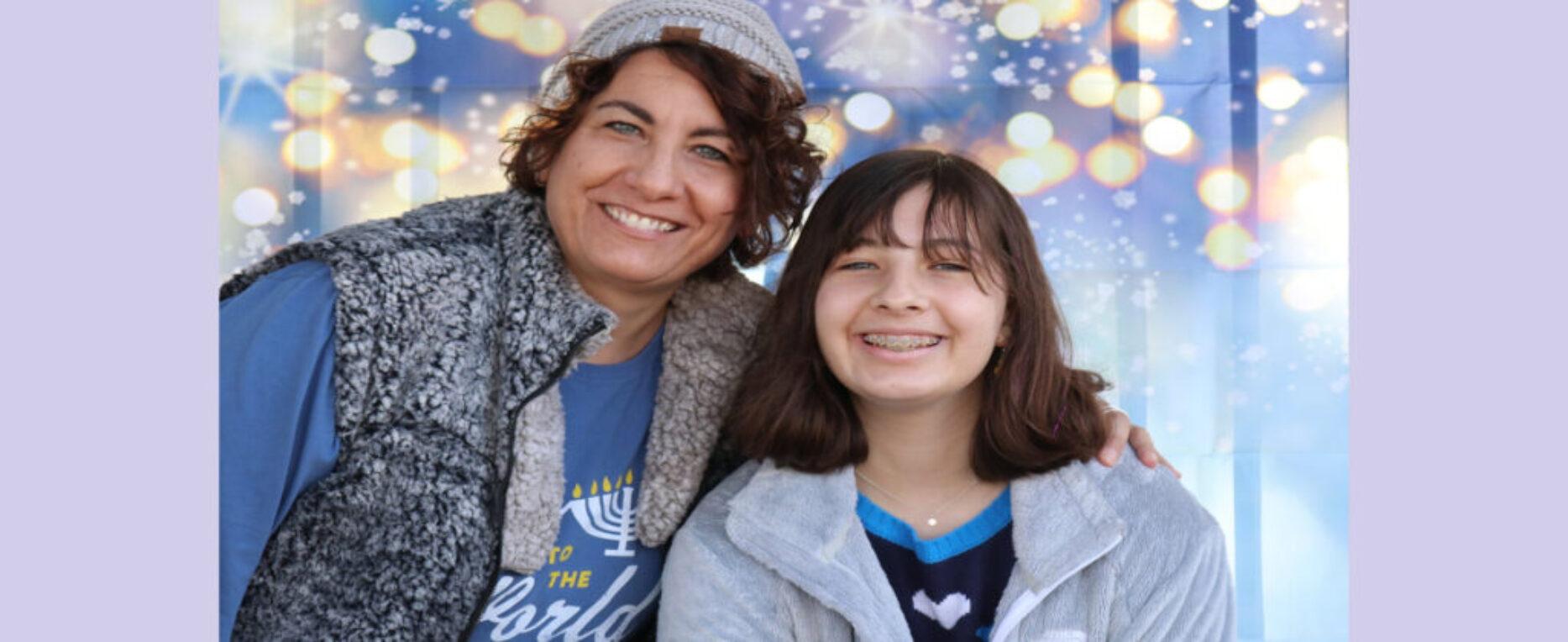 Hanukkah Segal and daughter 12 12 2020
