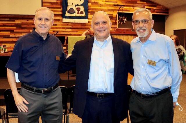 Faithbridge Perry Zidow, Rabbi Paley, James Warner